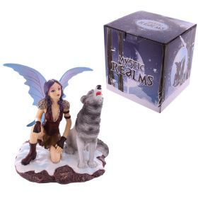 NEW Sisters of the Winter Solstice Fairy Decorative Figurine 10 cm High Magic