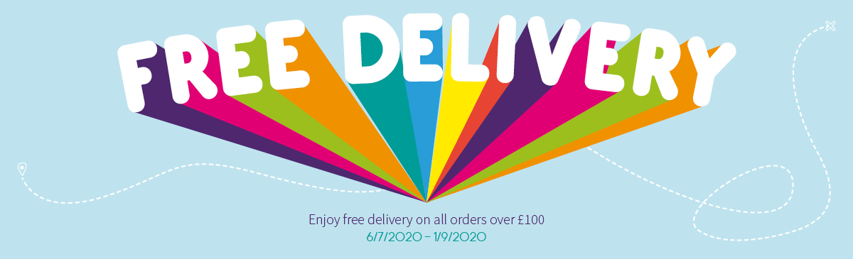 Free Delivery Over £100 Extended Again