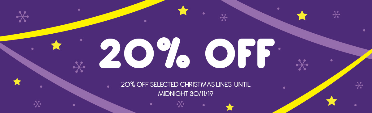 SALE - 20% Off Selected Christmas Lines