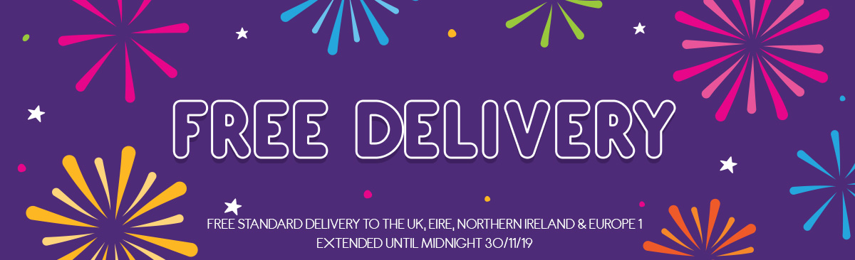 Free Standard Delivery Until 30/11/19