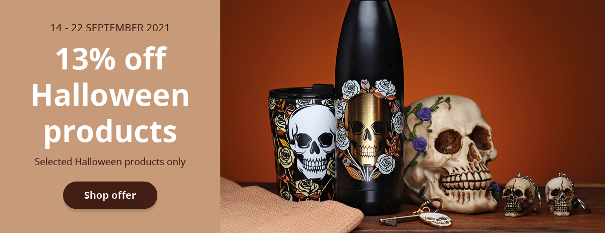 13% Off Selected Halloween Products - 14/09/21 to 22/09/21