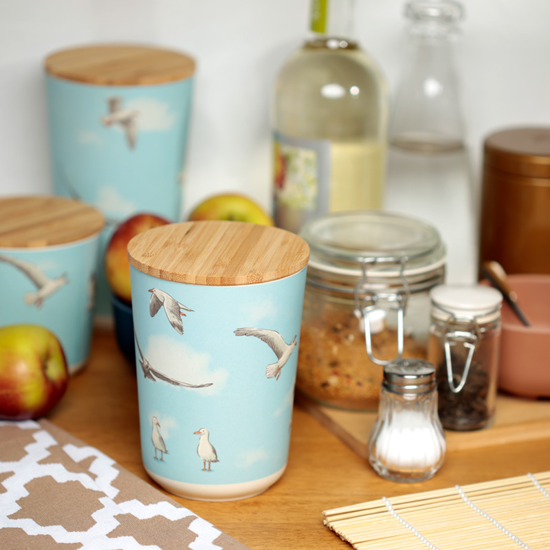 Bamboo Composite Storage Jars from Puckator UK
