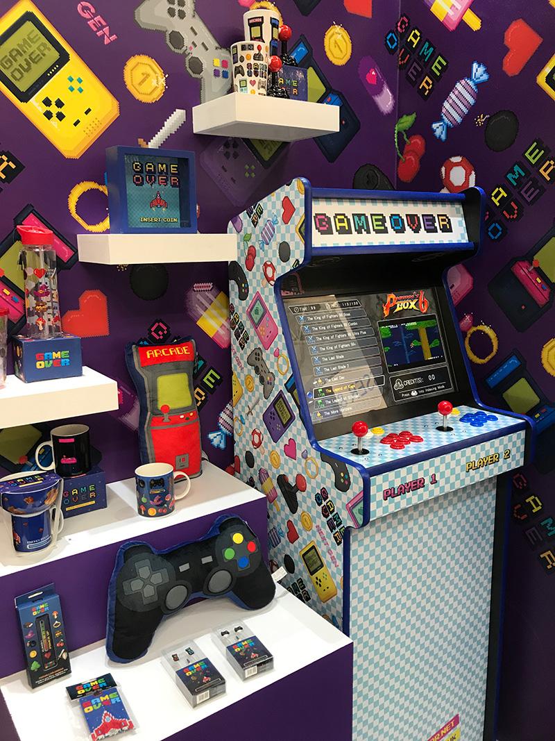 Game Over Range and Games Machine at NEC Autumn Fair